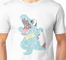 Totodile Typography Unisex T-Shirt