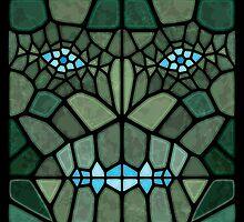 Kaiju face - Voronoi by enriquev242