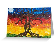 Fertility Tree of Life Greeting Card