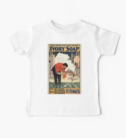 Vintage poster - Soap Baby Tee