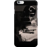 Skull on Books - Still Life - Key, Lace and Secrets in NYC   iPhone Case/Skin