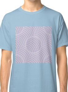 Colors of the Year 2016: Seamless Wireframe Rose Quartz & Serenity Classic T-Shirt