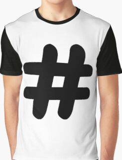 Hashtag Graphic T-Shirt