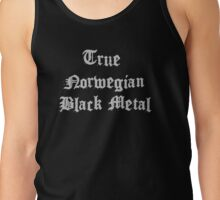 True Norwegian Black Metal Tank Top