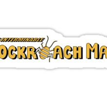 Cockroach Man Title Sticker