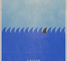 Minimal Jaws Print 2 by Tommy Brown