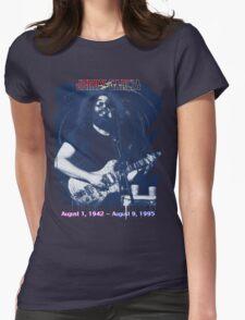 Jerry Garcia - Anniversary Shirt Womens Fitted T-Shirt