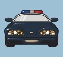 police car Kids Clothes
