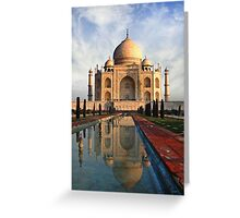 Morning in Agra Greeting Card