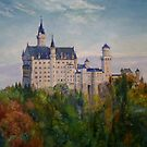 Neuschwanstein Castle by dashinvaine
