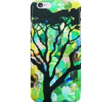 Acacia Rainbow Sunset iPhone Case/Skin