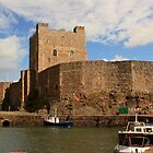 Carrickfergus Castle by Adrian McGlynn