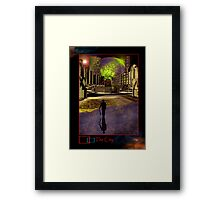 The New City Framed Print