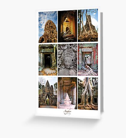 Angkor Greeting Card