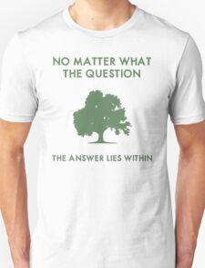 Zen Inspirational Quote T-Shirt