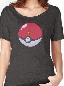 Pikachu's Pokeball Women's Relaxed Fit T-Shirt