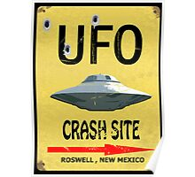 UFO Crash Site Poster