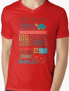 """""""Smalla than a bug"""" Mens V-Neck T-Shirt"""