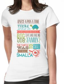 """""""Smalla than a bug"""" Womens Fitted T-Shirt"""