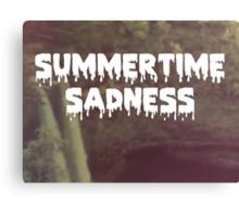Summertime Sadness Canvas Print