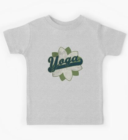 Yoga Flower Kids Tee