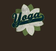 Yoga Flower Womens Fitted T-Shirt