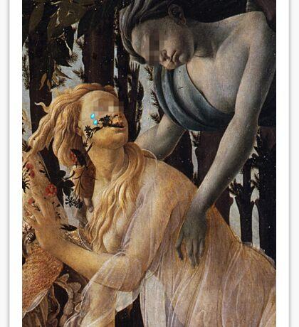 Primavera (1482) {SAD ART} Sticker