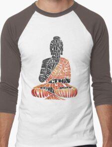 The Eightfold Path Buddha Men's Baseball ¾ T-Shirt