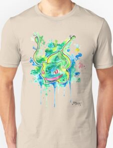 Cool BULBASAUR Watercolor Tshirts + More! ' Pokemon ' Jonny2may T-Shirt