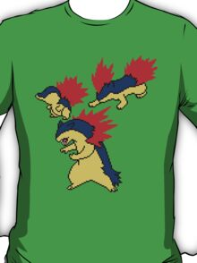 Cyndaquil, Quilava and Typhlosion T-Shirt