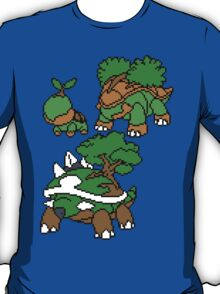 Turtwig, Grotle and Torterra T-Shirt