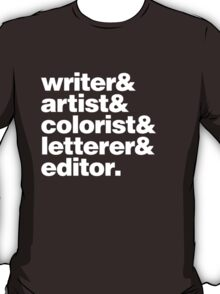 Indy Comic Creator T-Shirt