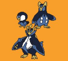 Piplup, Prinplup and Empoleon T-Shirt