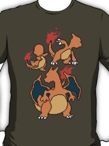 Charmander, Charmeleon and Charizard T-Shirt