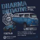 Dharma Initiative Motor Pool (LOST) by BenFraternale