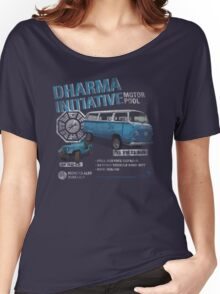 Dharma Initiative Motor Pool (LOST) Women's Relaxed Fit T-Shirt