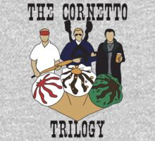 The Cornetto Trilogy by stevebluey