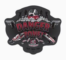 """""""Danger Zone!"""" - Sticker by ianleino"""