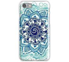 BLUE MANDALA  iPhone Case/Skin