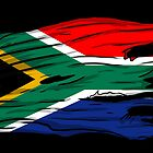 south african flag by jkon275