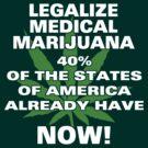 Legalize Medical Marijuana NOW! by MarijuanaTshirt