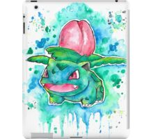 Cool IVYSAUR Watercolor Tshirts + More! ' Pokemon ' Jonny2may iPad Case/Skin
