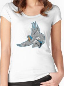 Hawks of Silver Women's Fitted Scoop T-Shirt