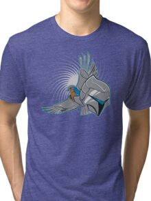 Hawks of Silver Tri-blend T-Shirt
