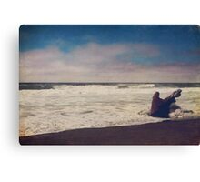 That Dirty Game Recaptures Me Canvas Print