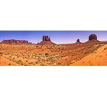 Monument Valley Panorama - Utah - USA Photographic Print