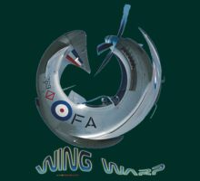 Mustang Fighter Wing Warp T-shirt Design by muz2142