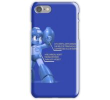Mega Man Design - NES and SNES Interior Makeup iPhone Case/Skin