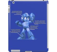 Mega Man Design - NES and SNES Interior Makeup iPad Case/Skin