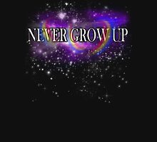 Never Grow Up - Peter Pan Unisex T-Shirt